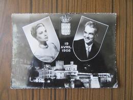 Mariage 1956                           Grace Kelly Et Rainier III De Monaco - Monaco