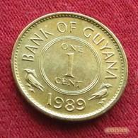 Guyana 1 Cent 1989 KM# 31 Guiana - Guyana