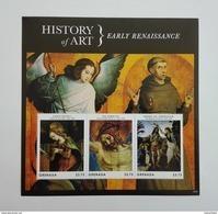 Grenada 2013** Klb.6559-61. History Of Art. Early Renaissance MNH [14;67] - Kunst