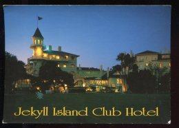 CPM Etats Unis JEKILL ISLAND Club Hôtel La Nuit - Etats-Unis