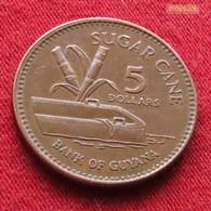 Guyana 5 Dollars 2002 KM# 51 Guiana - Guyana