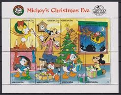 2234   WALT DISNEY - GRANADA  ( Christmas ' 1988 )  Mickey's Christmas Eve . - Disney