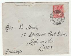 1938 MALTA Stamps COVER To GB - Malta