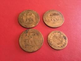 Lot De 4 Pièces Voir Le Scan - Monete & Banconote