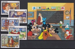 "2236   WALT DISNEY - GRANADA  ( ""World Stamp Expo'89"" )  Washington - Ben And Me - Disney"