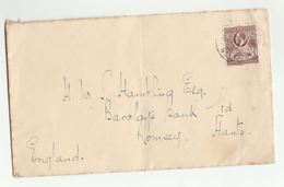1930s GOLD COAST GV Stamps COVER To GB - Gold Coast (...-1957)