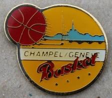 CHAMPEL CLUB - GENEVE - SUISSE - BASKET BALL - PANIER - BALLON  -                       (18) - Basketball