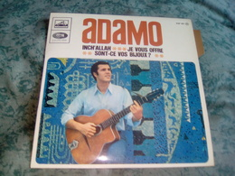 """ADAMO """"Inch'allah"""" - Other - French Music"""
