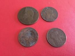 Lot De 4 Pièces Voir Le Scan - Coins & Banknotes
