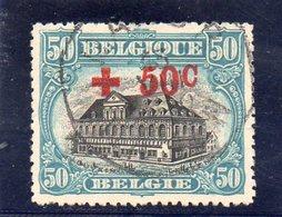 BELGIQUE 1918 O - 1918 Croix-Rouge