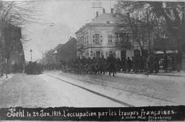 Carte Photo : Kehl Le 29 Jan 1919 L'occupation Par Les Troupes Françaises, Musique Du 8ème Tirailleurs - Kehl