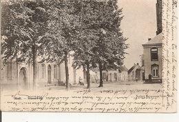 Moll - Steenweg 1905 (Rechts Kerk En Gemeentehuis) - Mol