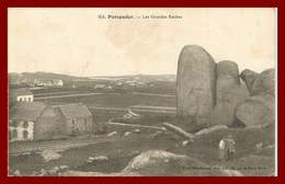 Porspoder * Les Grandes Roches     ( Recto Et Verso ) - France