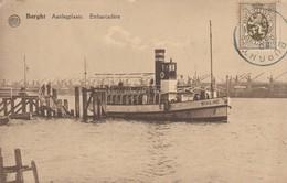 BURGHT  ,  Aanlegplaats ,Embarcadère (Boot , Bateau  : Waasland ) - Zwijndrecht
