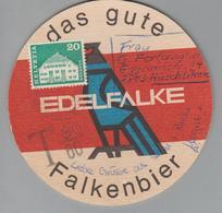 Motiv Bier Versendeter Bierdeckel Falkenbier Taxiert - Alimentation
