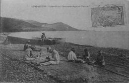 Pointe Noire Raccommodage Des Filets De Pèche - Guadeloupe