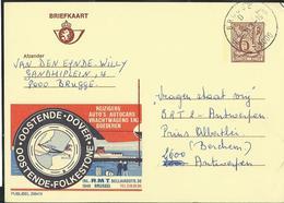 Publibel Obl. N° 2694  ( Oostende - Dover)  Obl. Brugge  D (8000) 1/11/78 - Stamped Stationery