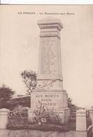 01 / LE POIZAT / LE MONUMENT AUX MORTS - Autres Communes