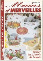 """01 Mains Et Merveilles """"Broder Les 12 Mois De L'année Au Point De Croix"""" - Cross Stitch"""