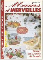 """01 Mains Et Merveilles """"Broder Les 12 Mois De L'année Au Point De Croix"""" - Point De Croix"""