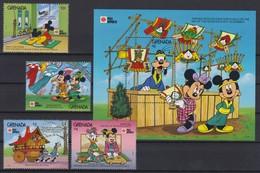 "2239  Walt Disney - GRENADA  ( "" Phila Nippon'91"" )  Tokyo - Tango Festival Boys'Day Festival . - Disney"