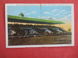 Dade Park Race Track Between Evansville Ind. & Henderson KY.ref 3006 - Postcards