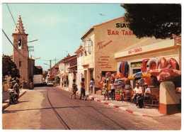 13 : La Couronne : Entrée Du Village Et L'Eglise : Bar - Tabacs ( Cpsm G.F. ) - Autres Communes