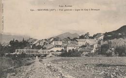Hautes-alpes : SAVINES : Vue Générale - Ligne De Gap à Briançon - France