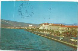X3157 Izmir - A View Of Ataturk Boulevard / Viaggiata 1959 - Turchia