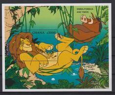 2243  Walt Disney - GHANA  ( Simba,Pumbaa And Timon ) - Disney