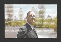 POLITIQUE - LE GÉNÉRAL CHARLES DE GAULLE  LES VALEURS GAULLISME RÉSUMÉS EN 6 CITATIONS - Personnages