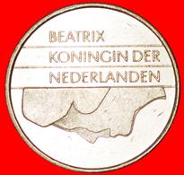 # PORTRAIT DOWN: NETHERLANDS ★ 1 GUILDER 1988 MINT LUSTER! LOW START ★ NO RESERVE! - [ 3] 1815-… : Kingdom Of The Netherlands