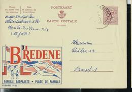 Publibel Obl. N° 1952  ( BREDENE  Plage De Famille) Obl. Kessel-Lo  1963 - Entiers Postaux