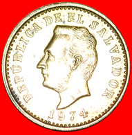 # GREAT BRITAIN: EL SALVADOR ★ 2 CENTAVOS 1974 MINT LUSTER! LOW START ★ NO RESERVE! - El Salvador