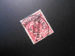D.R.7a  10Pf   Deutsche Kolonien (Deutsch-Südwestafrika) 1898 - Mi 5,00 € - Geprüft Jäschke BPP - Kolonie: Deutsch-Südwestafrika