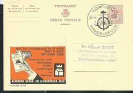 Publibel Obl. N° 2140  ( Bank ASLK - CGER) Obl: Waregem  30/04/66  Handelsfloor - Publibels