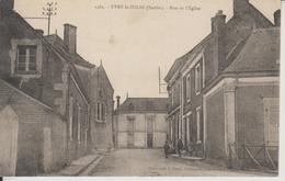 D72 - YVRE LE POLIN - RUE DE L'EGLISE - France