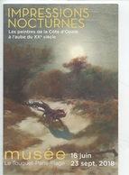 Jan Lavezzari 1876/1947 : Dunes Fantastiques Au Clair De Lune (détail) Expo Peintres De La Côte D'opale Touquet Paris Pl - Paintings