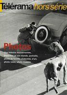 PUBLICITÉ PRESSE JOURNAUX TELERAMA HORS SÉRIE  PHOTO DEPARDON AUTOMOBILE CHIEN - Advertising