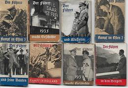 A.HITLER, 8 WHW Minibuch, Gute Zustand, 2 Scan - Guerra 1939-45