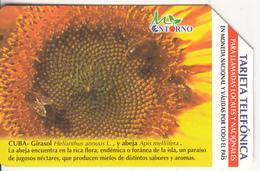 CUBA(Urmet) - Sunflower 2, Tirage 75000, 01/03, Used - Cuba