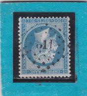 NAPOLEON III  N° 22  - PC Du GC  611  BREST / FINISTERE - REF 9821  - INDICE 7 COTE 30€ - 1862 Napoleon III