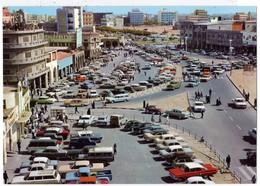 KOWEÏT KUWAIT - Safaat Square - Autos Voitures Automobiles Cars Américaine à Identifier US Car Land Rover VW Coccinelle - Kuwait
