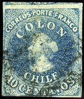 Chile. Sc #10g. Used. - Chile