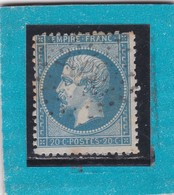 NAPOLEON III  N° 22  - PC Du GC  2915   POITIERS /  VIENNE - REF 9821 - 1862 Napoleon III