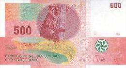 COMOROS 500 FRANCS 2006 P-15a UNC */* - Comoros