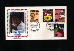 Dominican Republic 1979 IYC FDC - Dominikanische Rep.