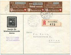 1921 - FDC Altstoffverwertung 1942 Mit ABART / Rasterfehler Y - FDC