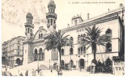 POSTAL   ARGEL /ALGER)  ARGELIA -AFRICA -LE PALAIS D'HIVERN ET LA CATHÉDRALE (PALACIO DE INVIERNO Y LA CATEDRAL ) - Argelia