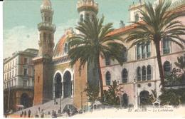 POSTAL   ARGEL /ALGER)  ARGELIA -AFRICA - LA CATHÉDRALE  ( LA CATEDRAL) - Argelia